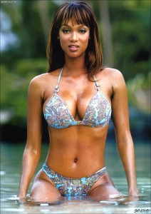 Tyra Banks Swimsuit
